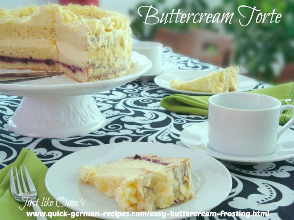 Buttercream Torte