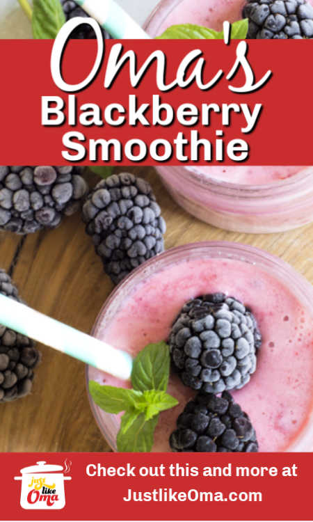Make this Buttermilk with Blackberries Smoothie when you're wanting something creamy and delicious.