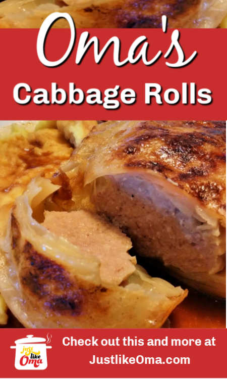 THE traditional German Cabbage Rolls recipe that only uses meat (and NO rice) and has a mouth-watering gravy. Made just like Oma!