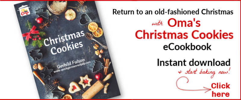 Oma's Christmas Cookies eCookbook Get yours today at https://justlikeoma.store/product/christmas-cookies-e-cookbook/ #cookbook #christmascookies #justlikeoma