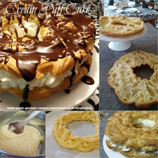 Alana's Birthday Cream Puff Cake