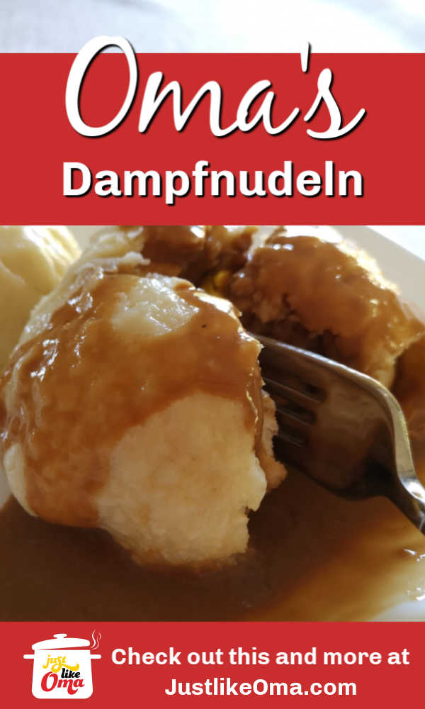 ❤️ Dampfnudeln are the German steamed buns that are used either as a main dish or a dessert. They surely bring back memories of Oma's kitchen. #dampfnudeln #steamed buns #germanfood #justlikeoma