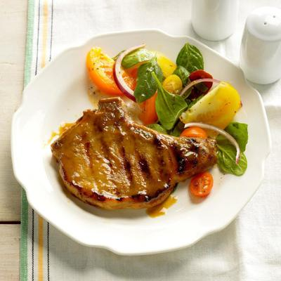 Dijon Schwenkbraten Pork Chops