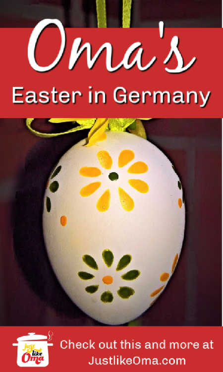 Celebrate Easter in Germany with German foods and traditions.