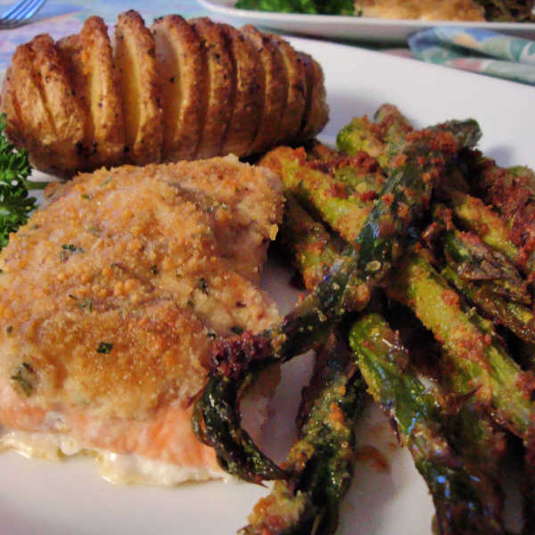 Oma's Easy Roasted Asparagus Recipe is wunderbar!