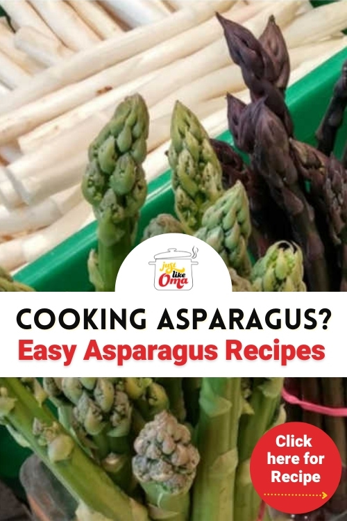 Oma's Easy Roasted Asparagus Recipe is wunderbar! This recipe pairs perfectly alongside a lovely pork schnitzel