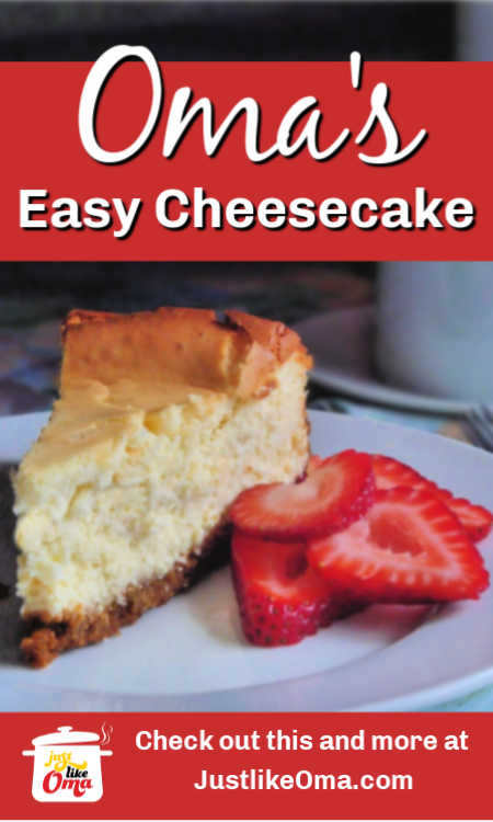 ❤️ Here's an easy German cheesecake that uses your mixer and blender to create a quick treat.