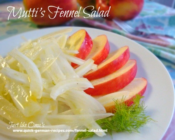Mutti's Fennel Salad