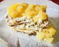 flaky dessert