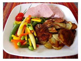 Bratkartoffeln ... traditional German potatoes ... check it out https://www.quick-german-recipes.com/fried-potato-recipes.html