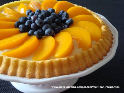 Fruit Flan - that traditional EASY dessert