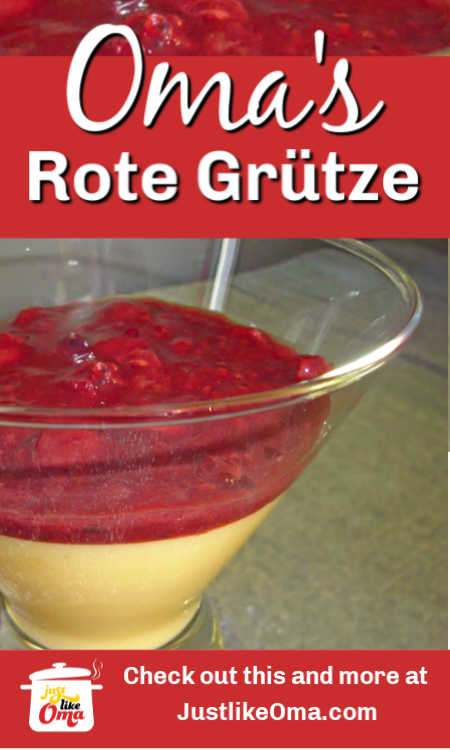 ❤️ Rote Grütze, a smooth and creamy German fruit pudding. Try making this as the perfect side to any cake dessert, or as a simple snack