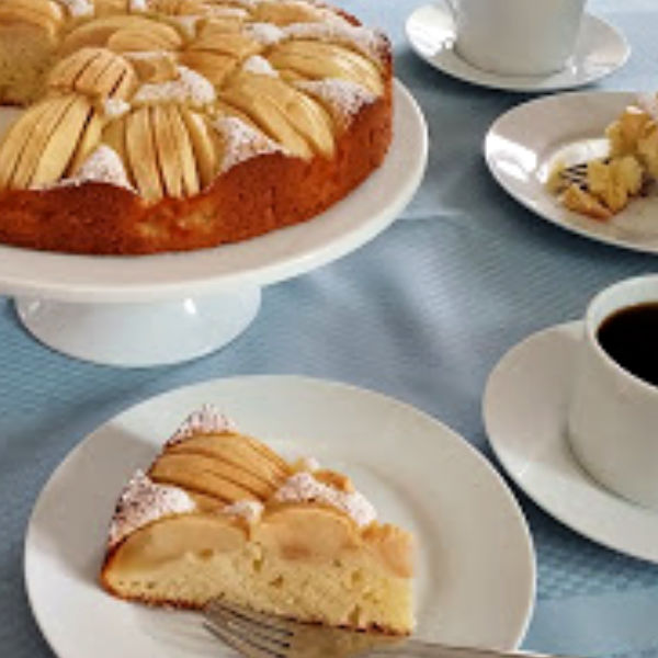 Oma's German apple cake is such a family favorite!