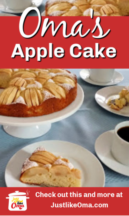 ❤️ Traditional German Apple Cake that's so quick and easy to make.