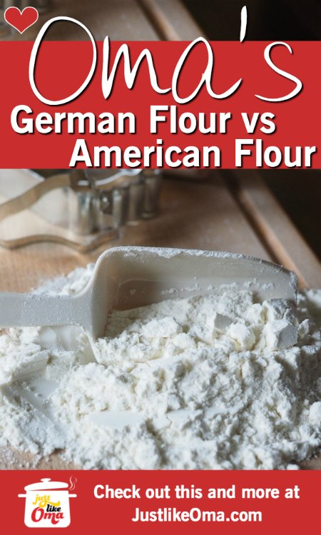 Your recipe calls for German flours and you don't live in Germany? What can you do? I've got some ideas for you!