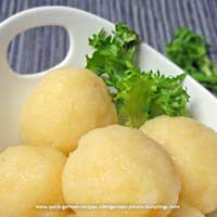 Potato Dumplings - Mutti's traditional dumplings