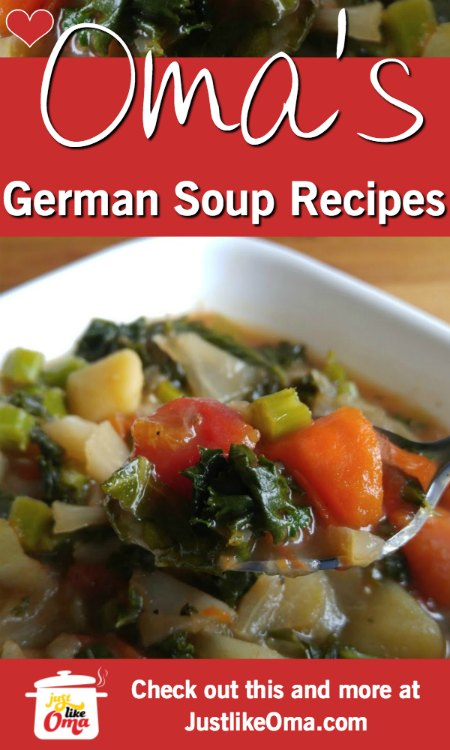 Make Soups just like Oma!