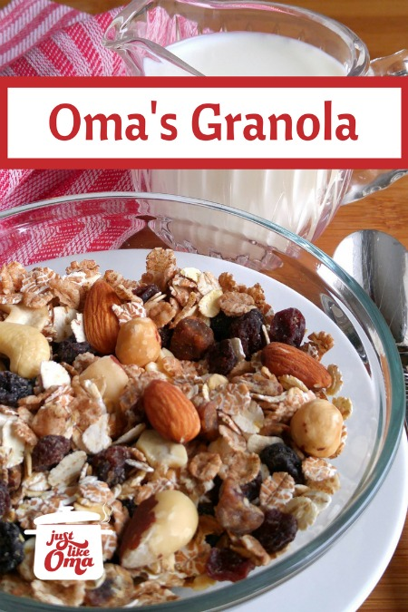 Love this granola! Make it yourself and make it as healthy as you want. So many variations! https://www.quick-german-recipes.com/granola-recipe.html