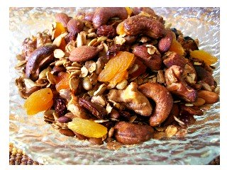 Homemade Granola - super healthy, super delicious