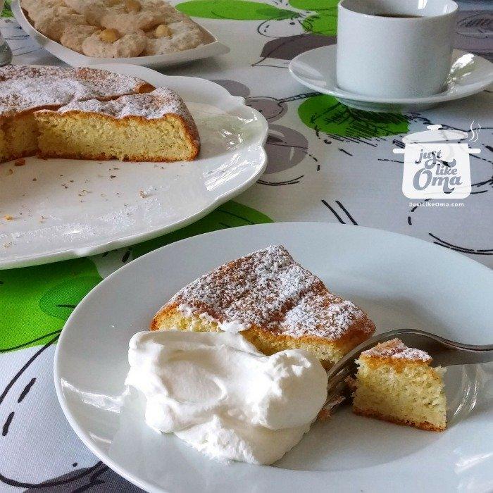 German Hazelnut Torte Recipe made Just like Oma