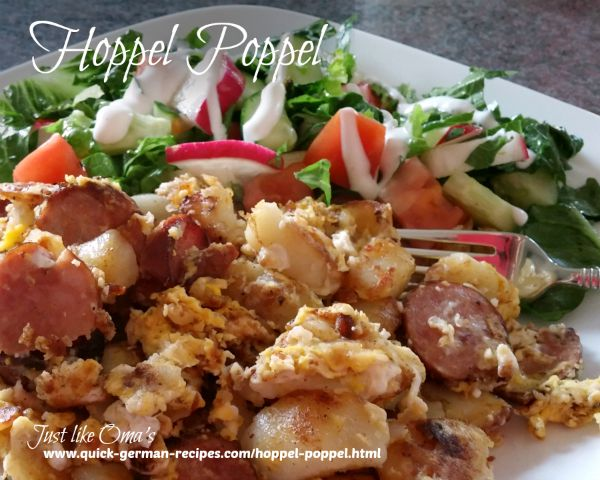 Hoppel Poppel ... perfect for leftovers