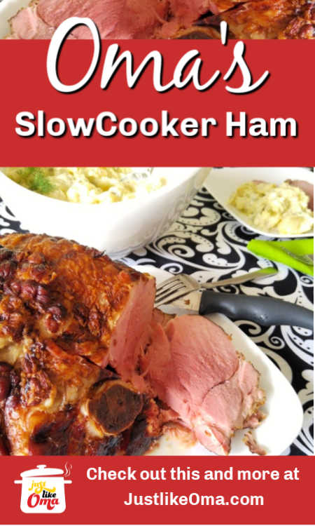 Need some help finding out how to cook that ham in your freezer? Check out how Oma does it!