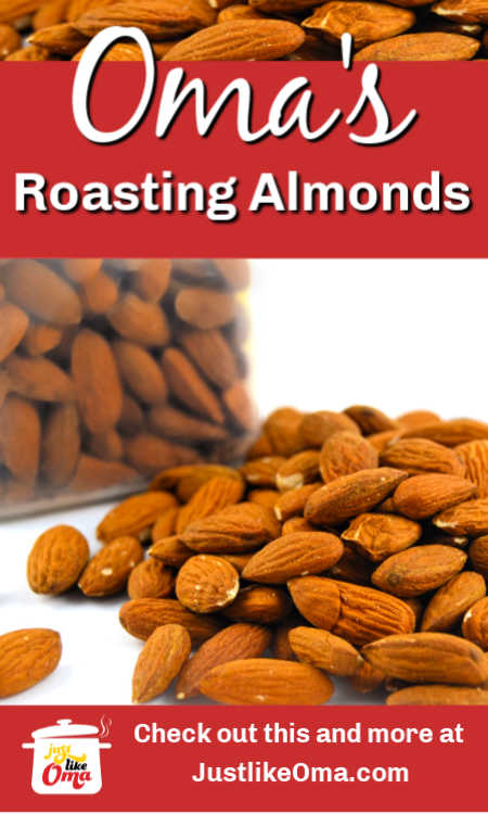 ❤️ How to Roast Almonds at home is an easy way to boost their flavor!
