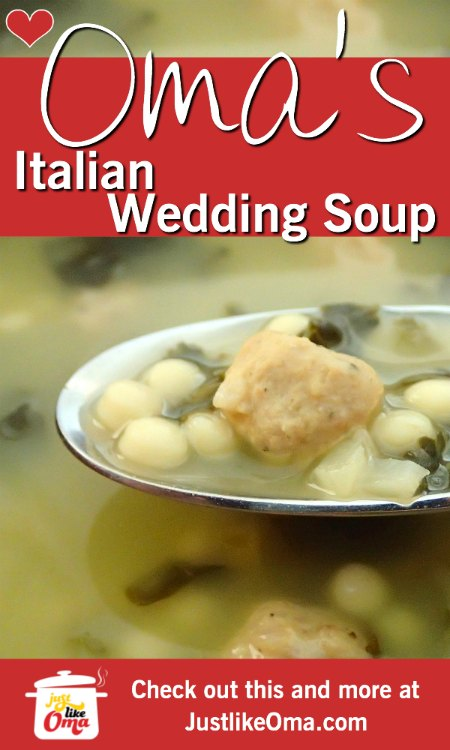 ❤️ Traditional Italian Wedding Soup that's so good and easy to  make.  https://www.quick-german-recipes.com/italian-wedding-soup-recipe.html #weddingsoup #justlikeoma #germanrecipe