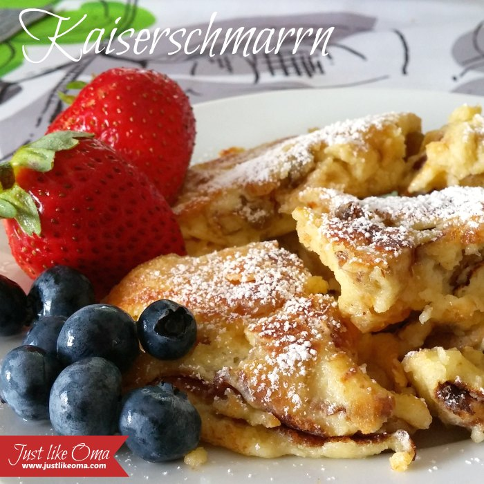 Kaiserschmarrn - German 'torn or scrambled' pancake