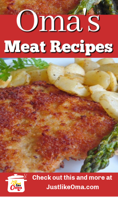 Oma's delicious German Pork Schnitzel!
