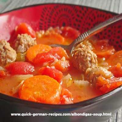 Albondigas Soup - Mexican Meatball Soup