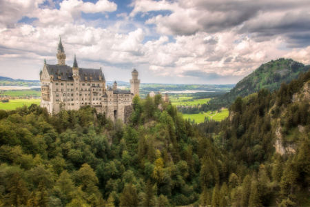 You'll feel like royalty visiting Neuschwanstein Castle!