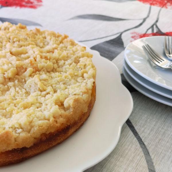 German Peach Cake Recipe made Just like Oma