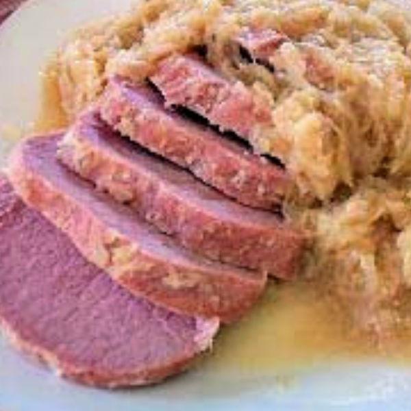 Peameal Bacon Recipe (Kasseler?) made Just like Oma