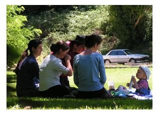 picnicing