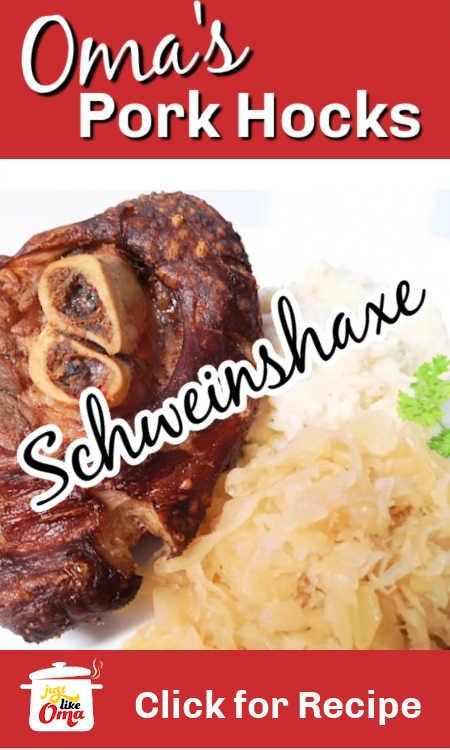 Learn how to make pork hocks the German way for a wonderful Oktoberfest experience!