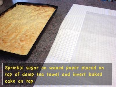 prepare towel