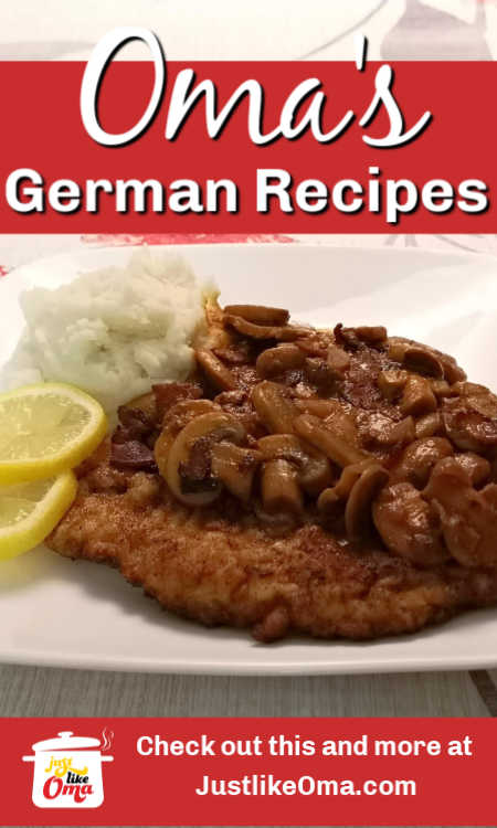 Looking for authentic German dinner recipes? Authentic German dessert recipes? Look no further! You've found them right here. All of Oma's recipes!