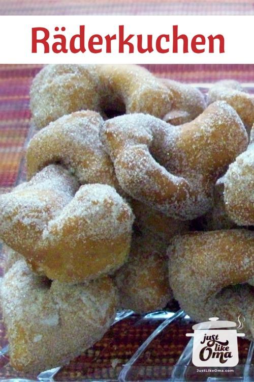 Deep fried German Pastries
