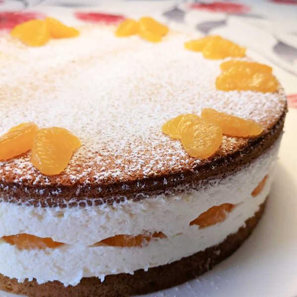 Oma's Recipe for Cheesecake - Käse-Sahne Torte