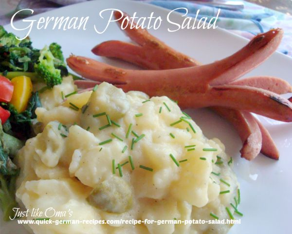 German Potato Salad ... southern style