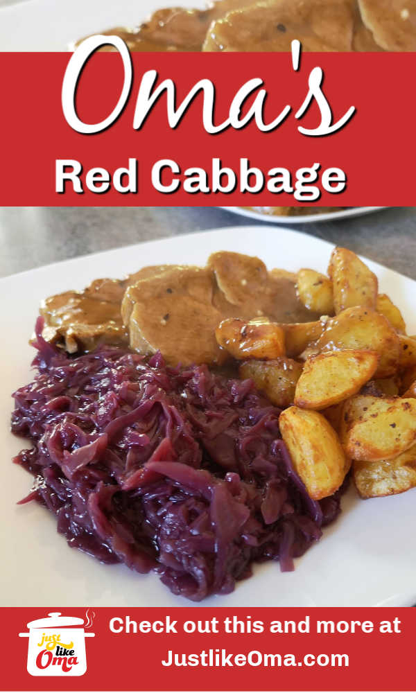 Oma's red cabbage recipe! Super easy to make
