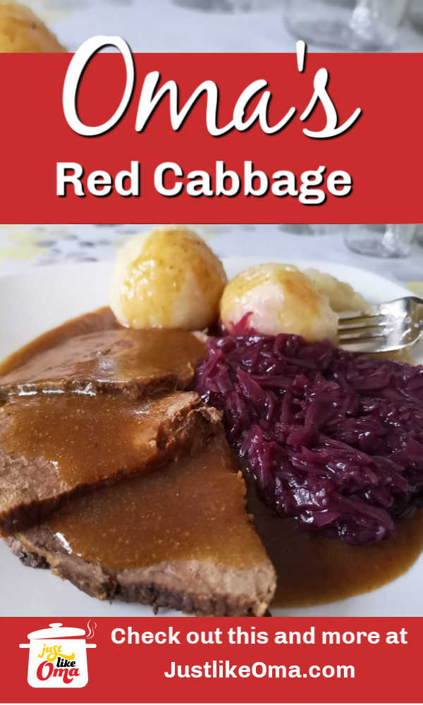 Oma's red cabbage recipe! A delicious side for any meal