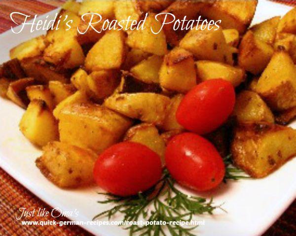 Heidi's Roasted Potatoes