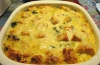 Salmon Casserole with Spinach - a weekday feast or company dish