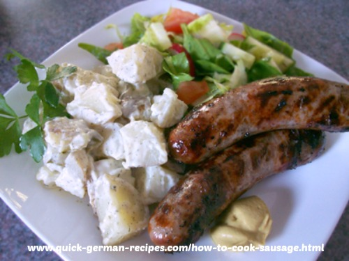 Sausages - traditional Bratwurst