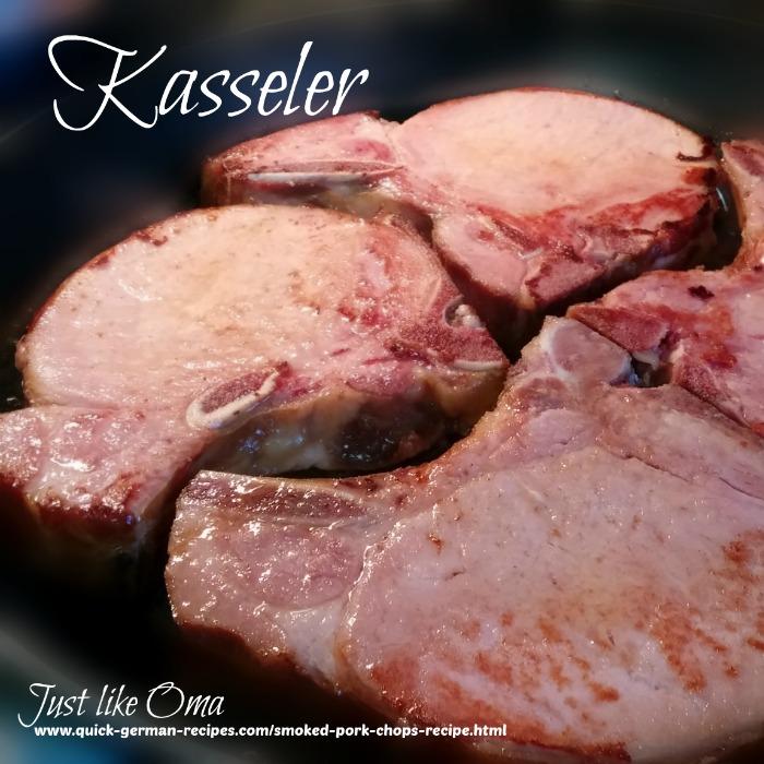 frying Kasseler