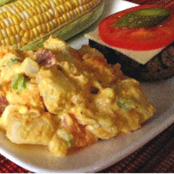 Sweet Potato Salad Recipe made Just like Oma
