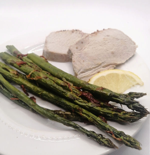 Air Fryer Asparagus Recipe ~ Spargel für Luftfritteuse